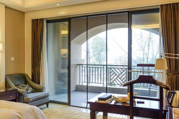 magnetic screen door for sliding doors